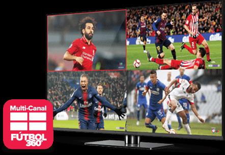 Multi Channel - Fútbol 360 - Uvalde, TX - Angel Breeze Services - Distribuidor autorizado de DISH