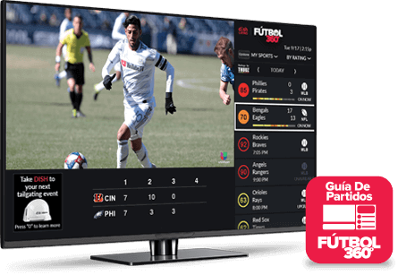 Guía de partidos - Fútbol 360 - Uvalde, TX - Angel Breeze Services - Distribuidor autorizado de DISH